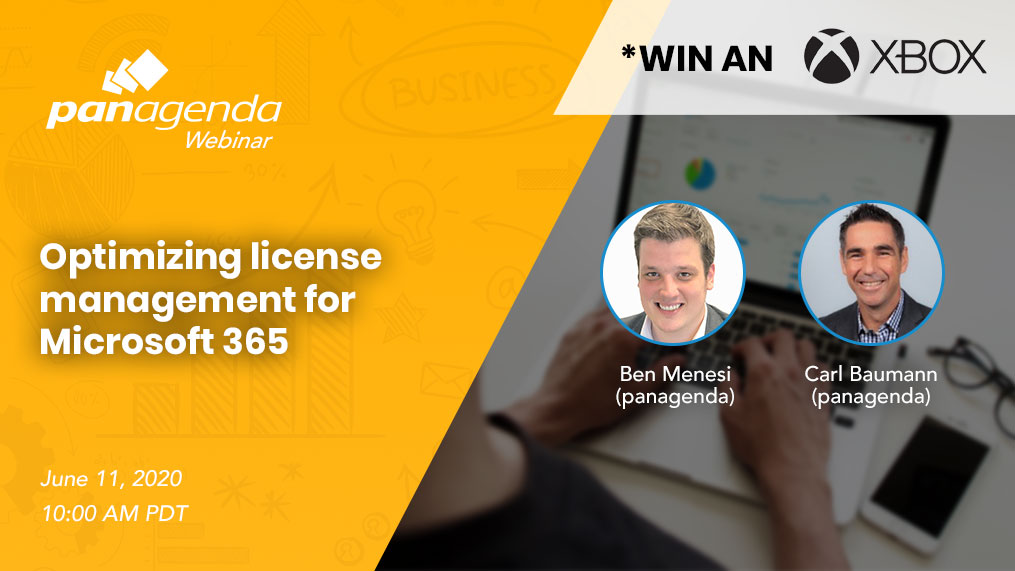 Webinar: Optimizing license management for Microsoft 365